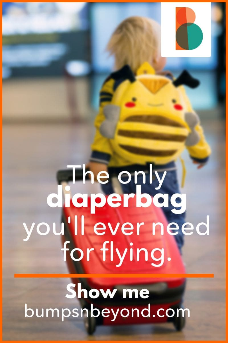 Planning a big trip when we can fly again? Traveling with a baby changes things. if you want your trip to go smoothly, it's worth investing in a diaper bag for flying. A bag that fits under your seat, and over the handles of your suitcase will make traveling a dream. Where to get one? Always here to help, we found the best diaper backpacks for travel. All you'll need to worry about is how to pack!