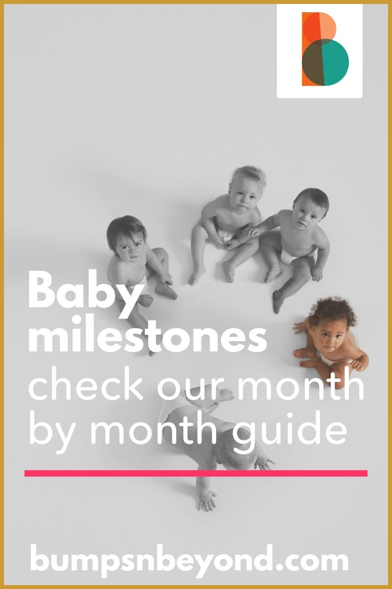 Baby milestones: check our convenient 12 month guide & find out what red flags to watch out for